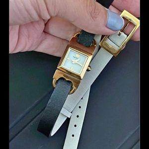 3/6  Tory Burch swiss women's watch gold
